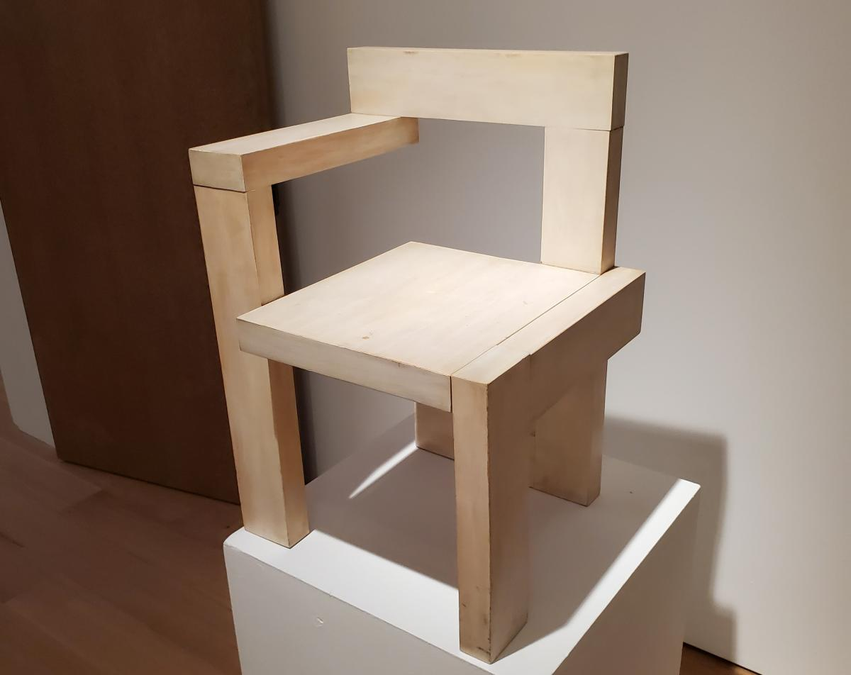 'STELTMAN' chair by Rietveld