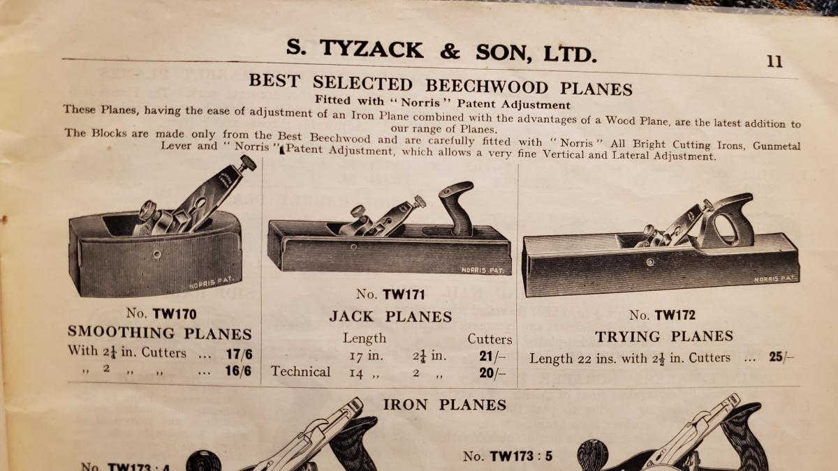 S. Tyzak & Son Catalog c. 1930