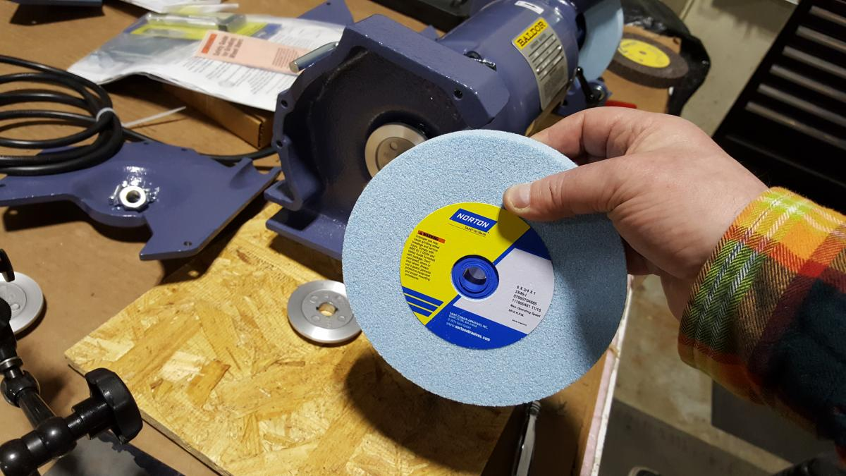 How To Grind: Part 4 - Dressing Your Grinding Wheel for Cool Running, Balance, and Convexity 4