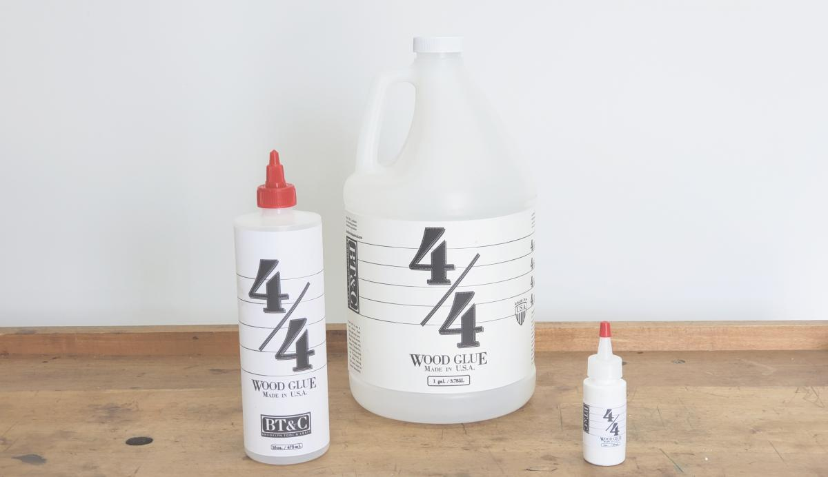 Glue - Announcing BT&C 4/4 Wood Glue 1