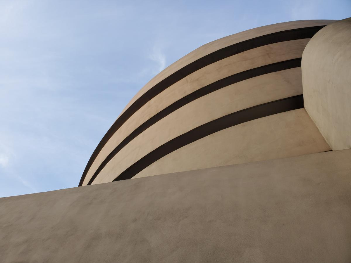 Classes and a Visit to the  Guggenheim (Things You Can Do With Poured Concrete) 1