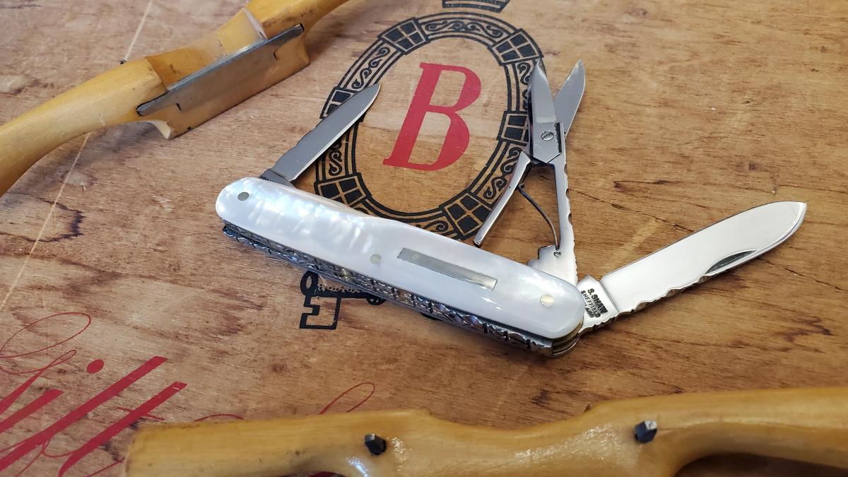 Workback pen knife by Stan Shaw