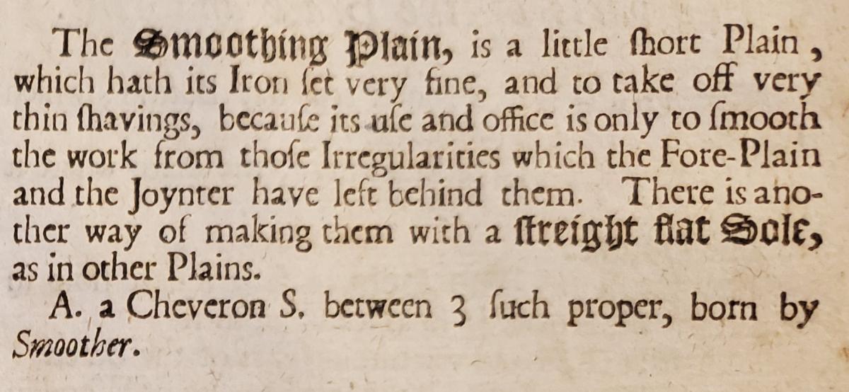 17th Century Smooth Plane Design 6