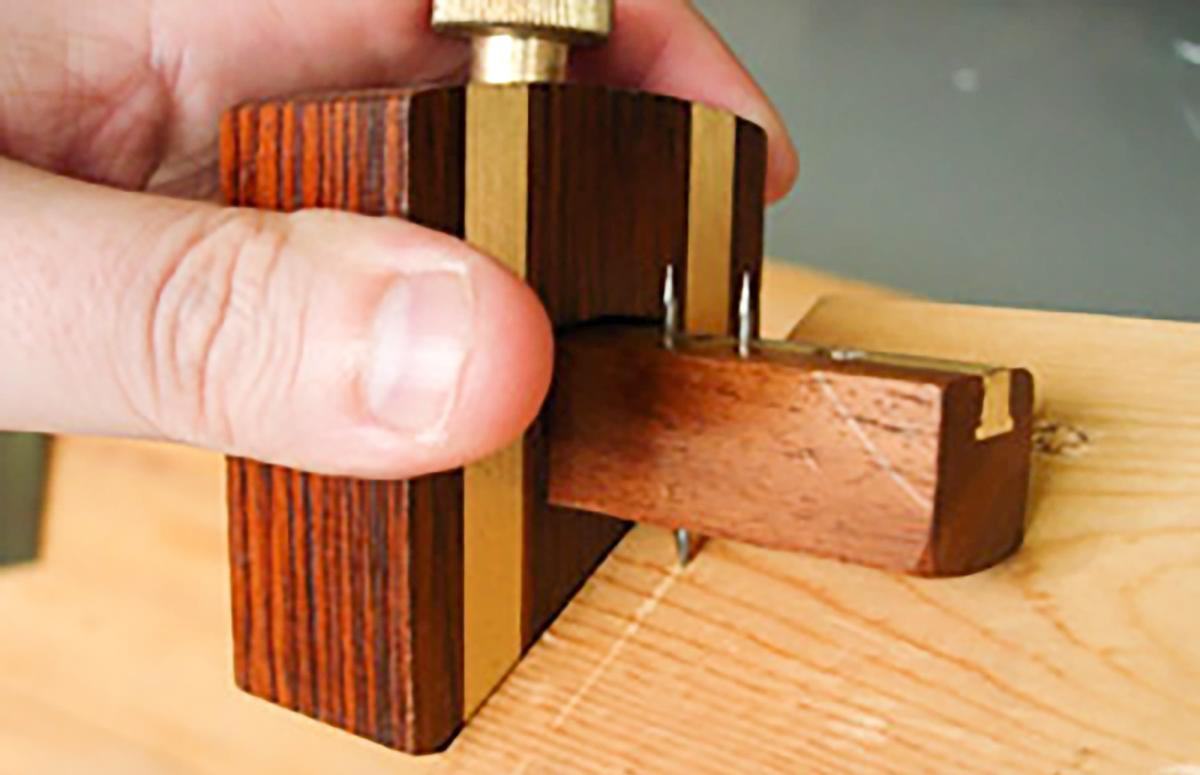 How to Use a Marking or Mortise Gauge (reprise) 1
