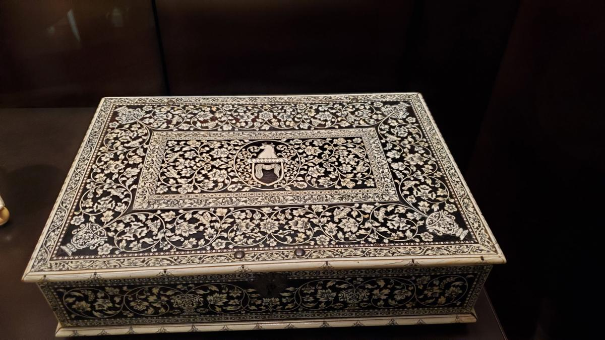 Casket made in India for the European trade. Ebony