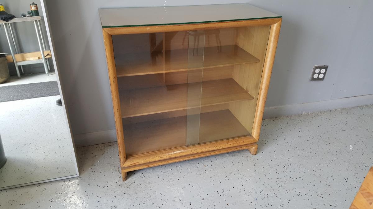 A Mid-Century Modern Bookcase 1