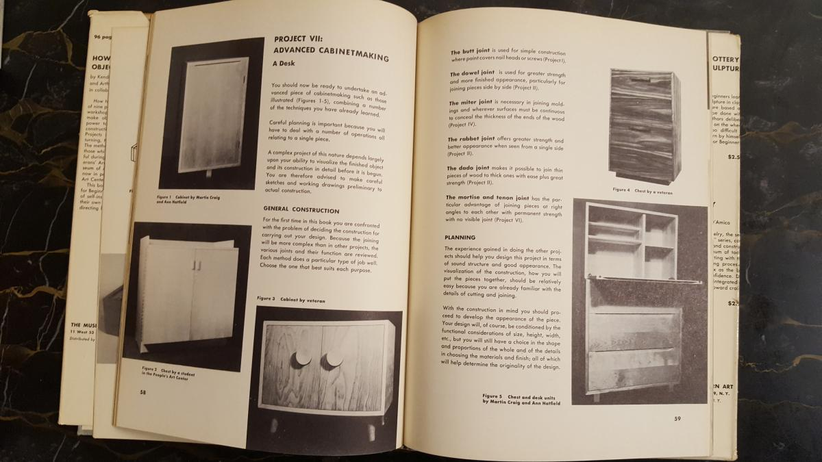 MoMA's Lost History of Woodworking and Craft Classes 4