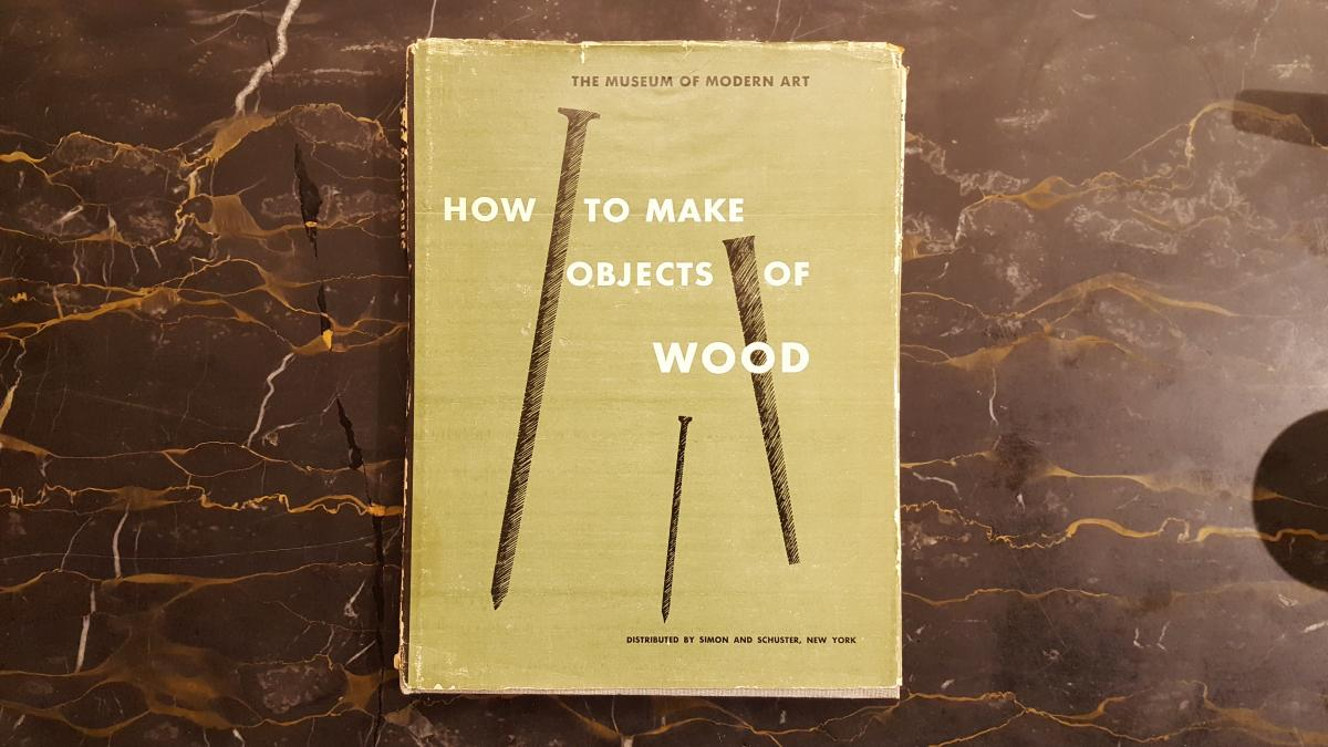 MoMA's Lost History of Woodworking and Craft Classes 1