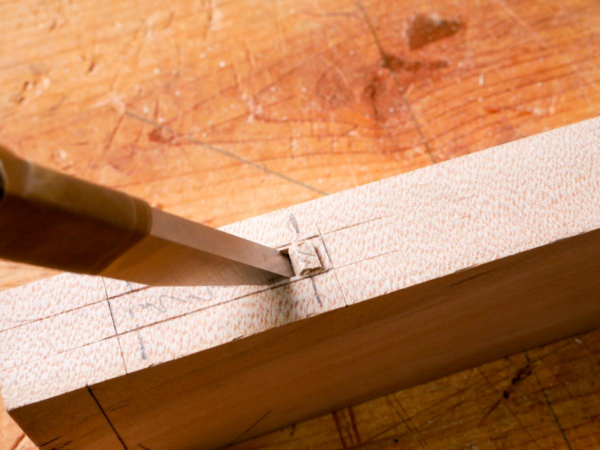 How to Mortise the Moxon Way: Part 2, Chopping the Mortise 10