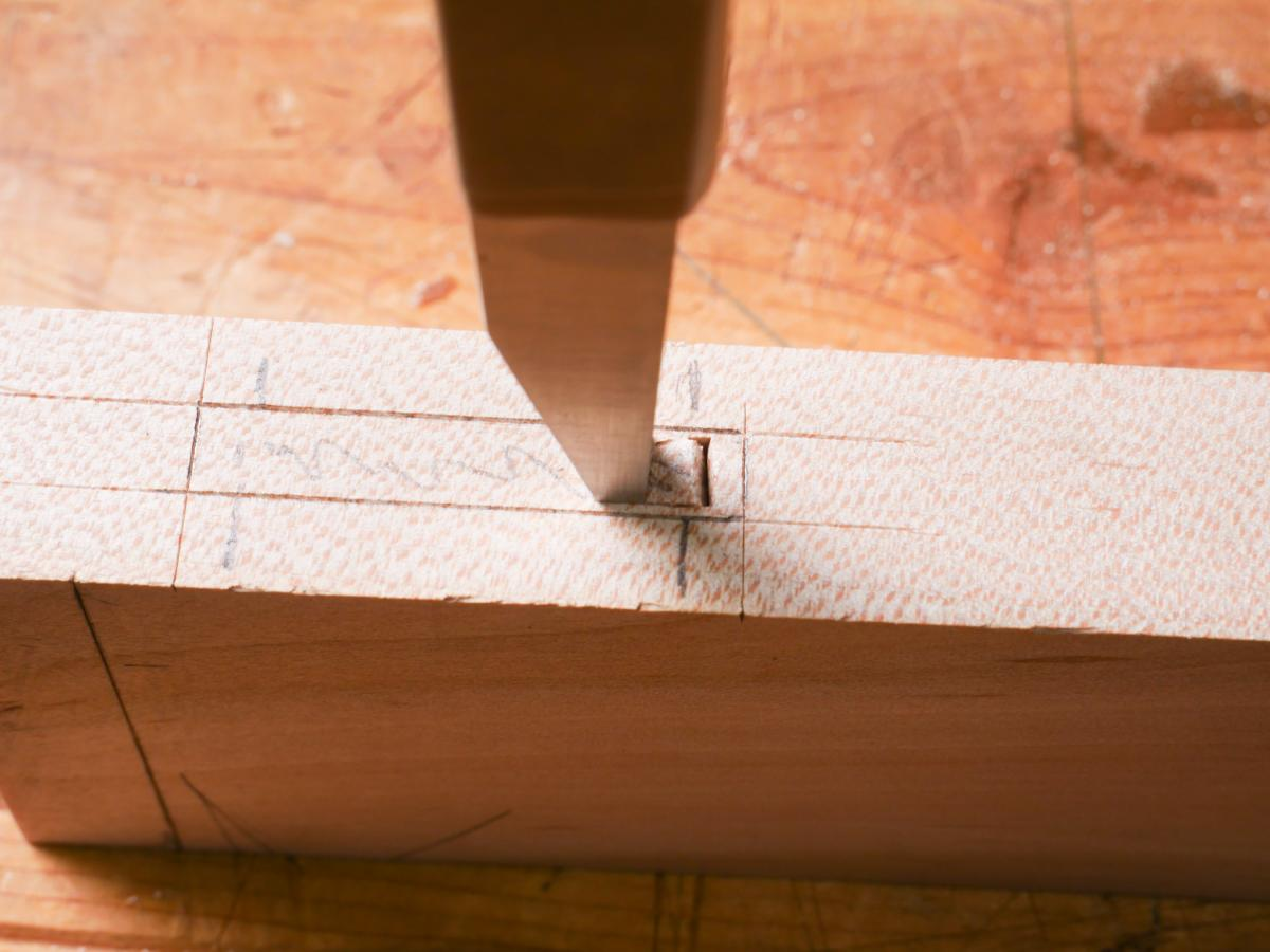 How to Mortise the Moxon Way: Part 2, Chopping the Mortise 8