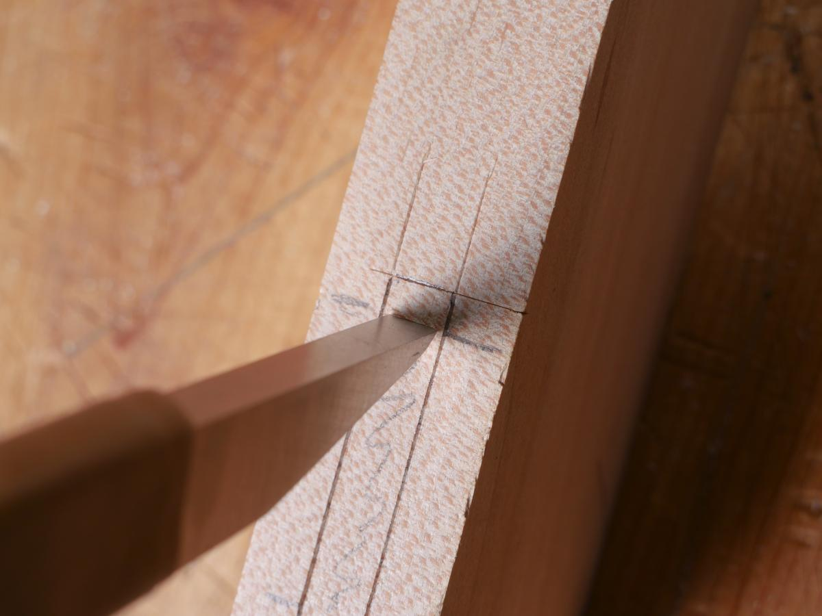 How to Mortise the Moxon Way: Part 2, Chopping the Mortise 6