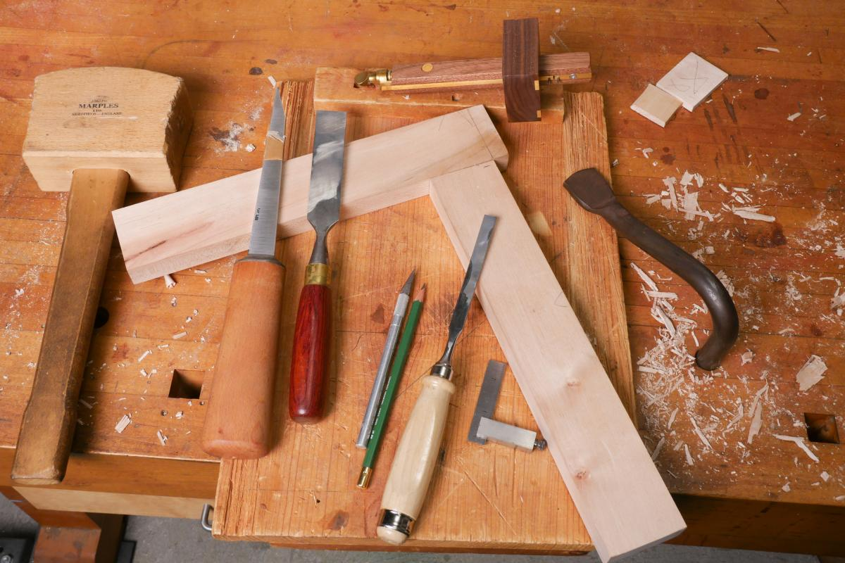 How to Mortise the Moxon Way: Part 2, Chopping the Mortise 1