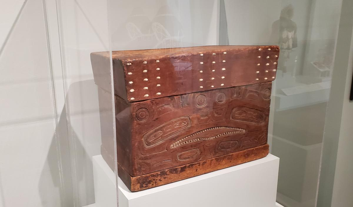 Tlingit Chest- Alaska late 18th - early 19th century