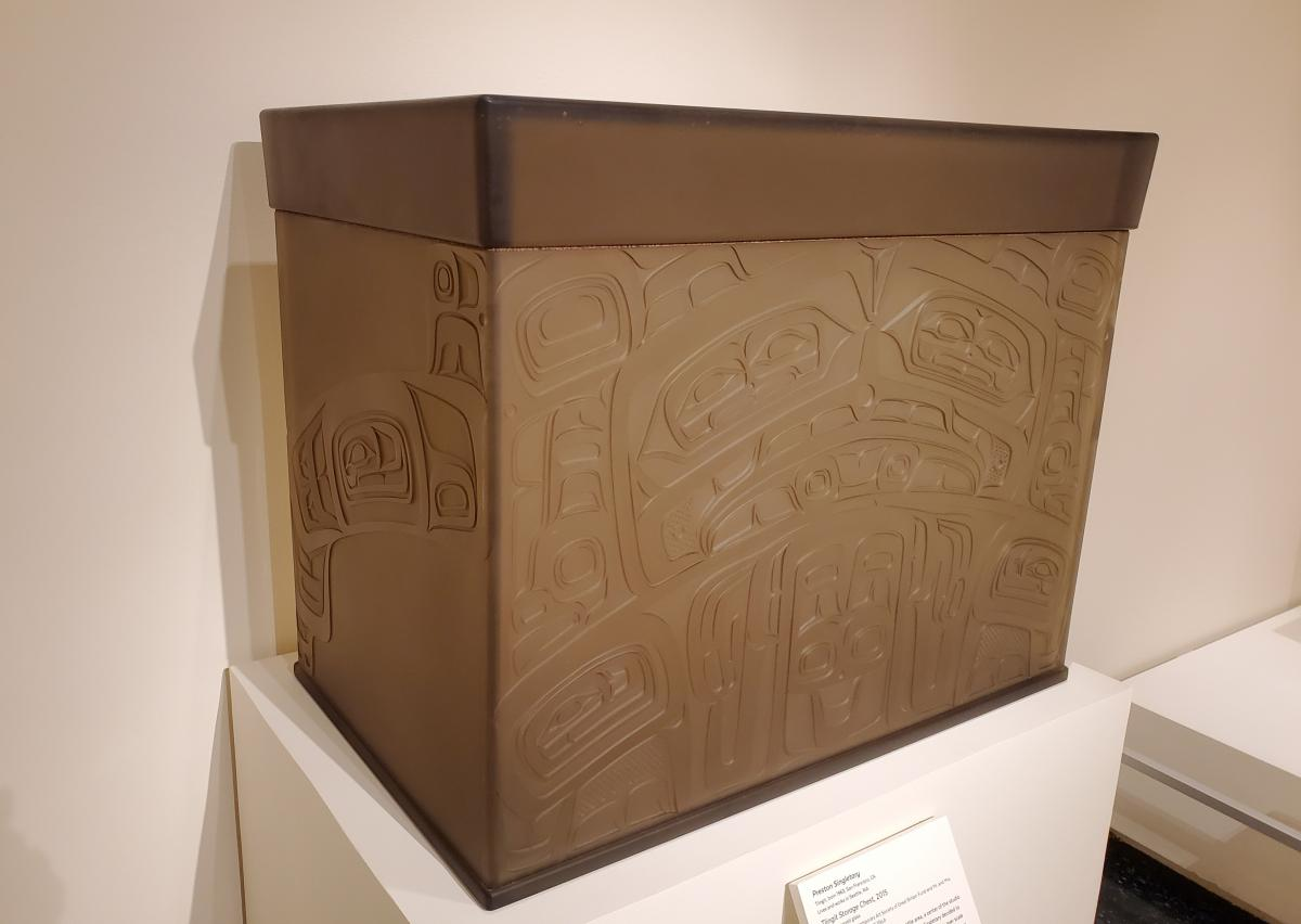 Tlingit Storage Chest - 2015 by Preston Singletary