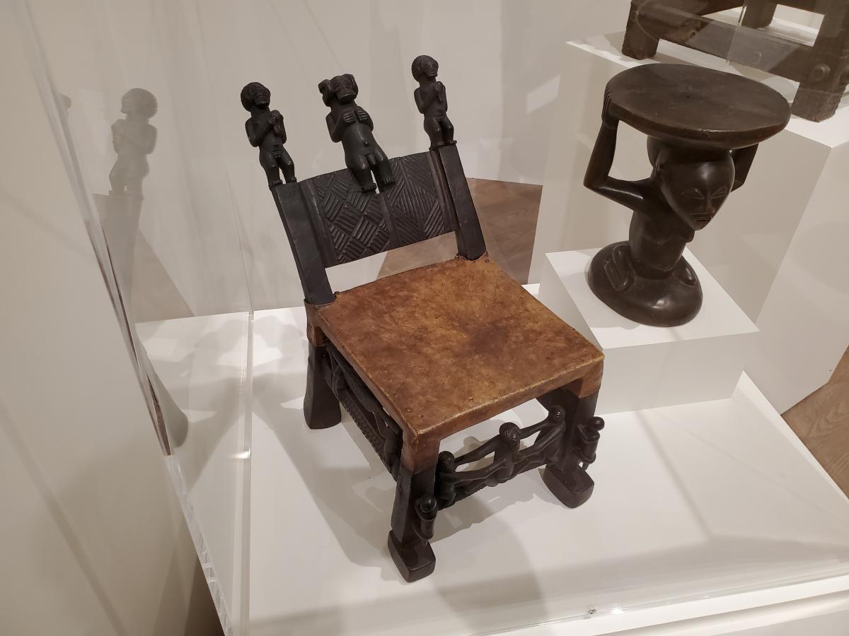Chokwe chair c.1900