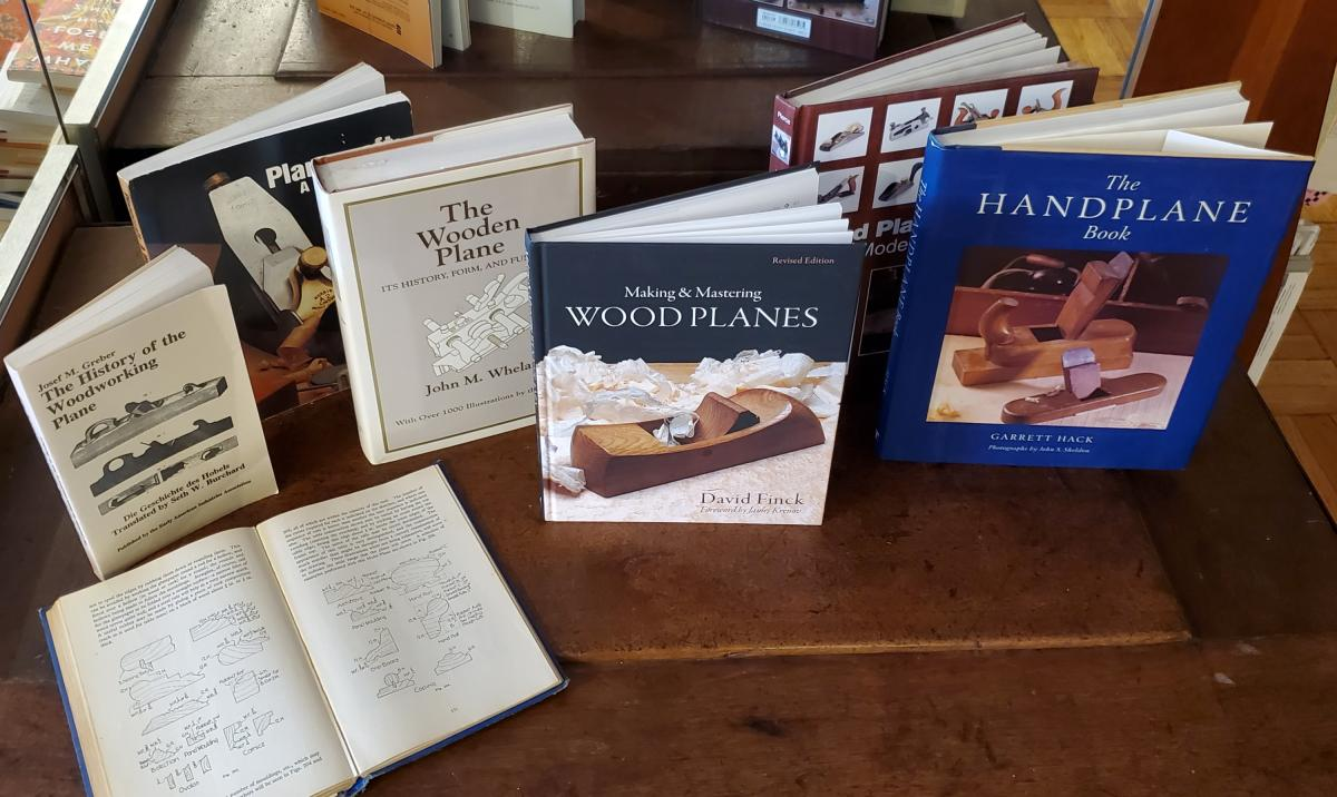 Books on Making and Using Hand Planes 1