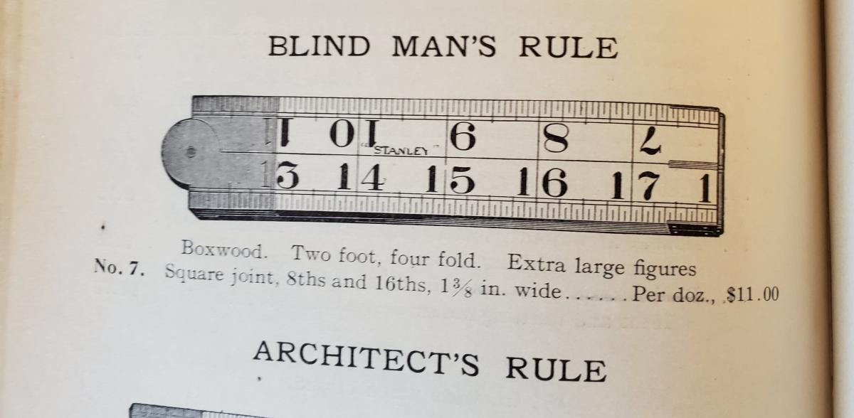H&S 1908 - Blind Man's Rule