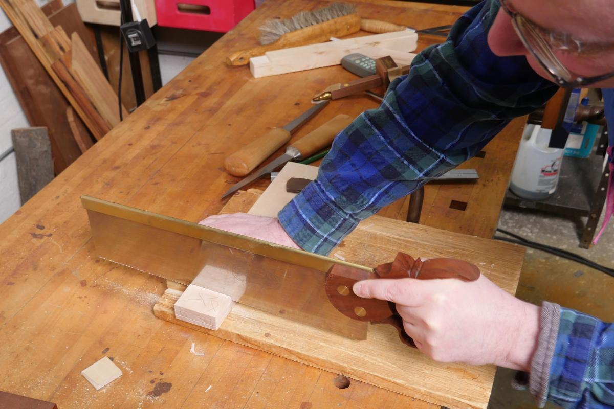 How to Mortise the Moxon Way: Part 1, Layout and Cutting Tenons 7