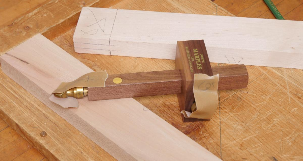 How to Mortise the Moxon Way: Part 1, Layout and Cutting Tenons 5