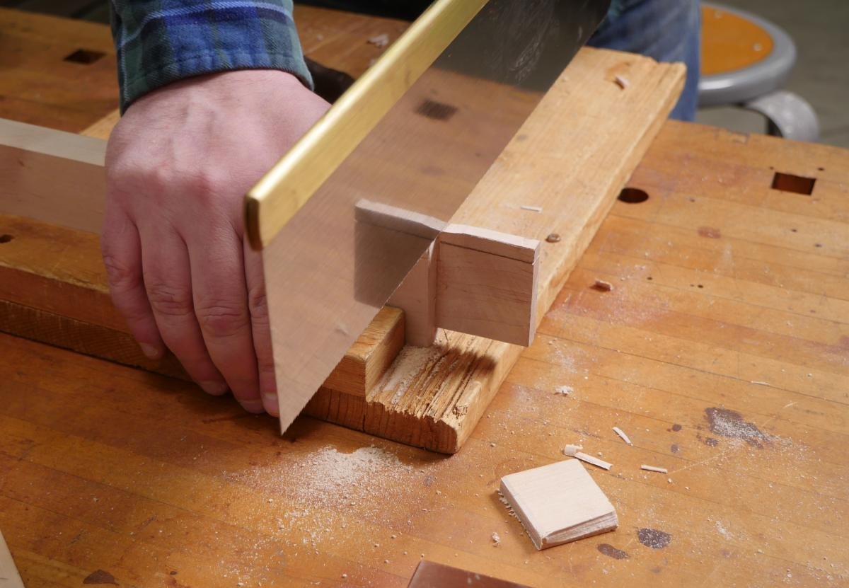 How to Mortise the Moxon Way: Part 1, Layout and Cutting Tenons 17