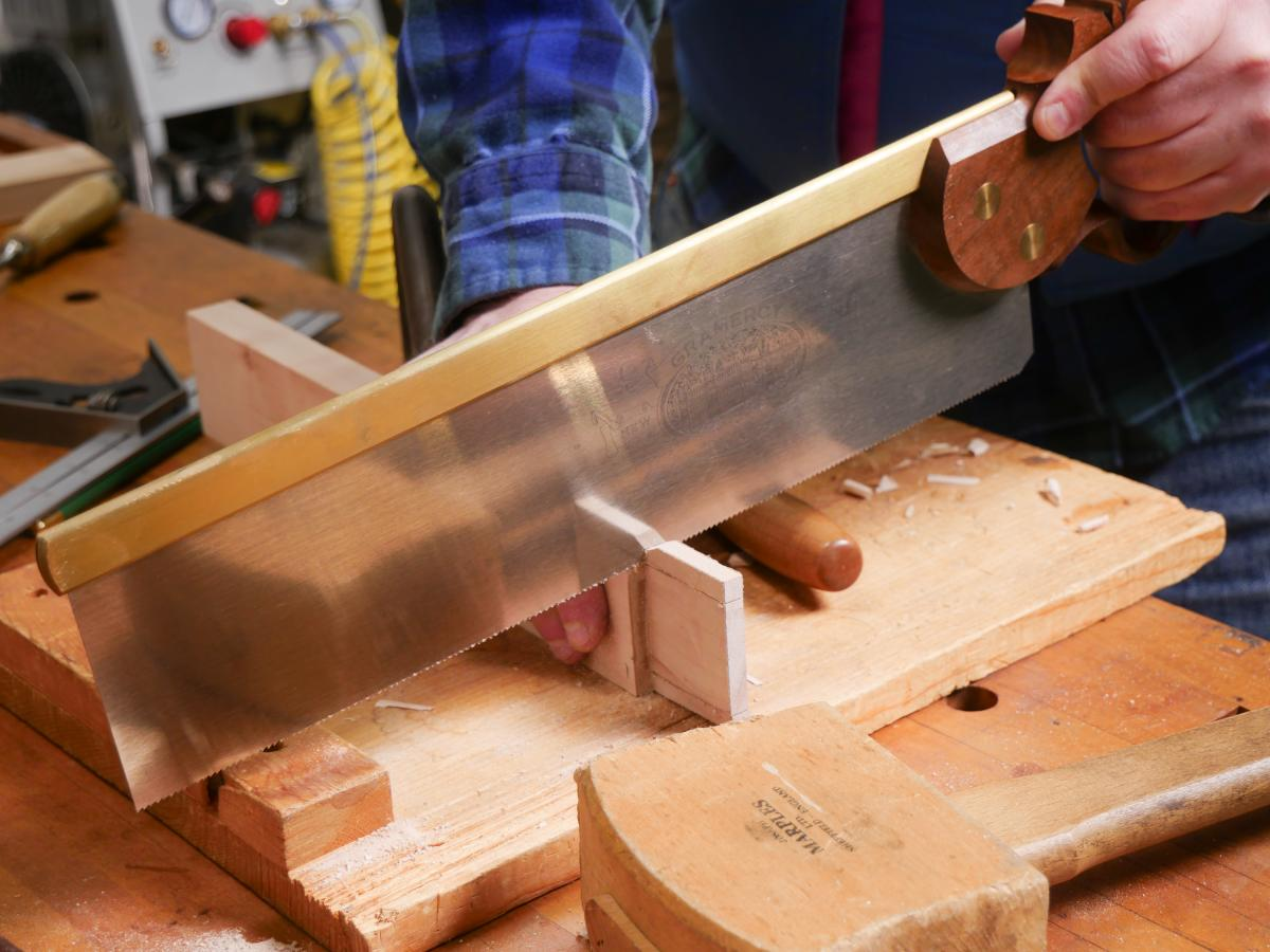 How to Mortise the Moxon Way: Part 1, Layout and Cutting Tenons 16