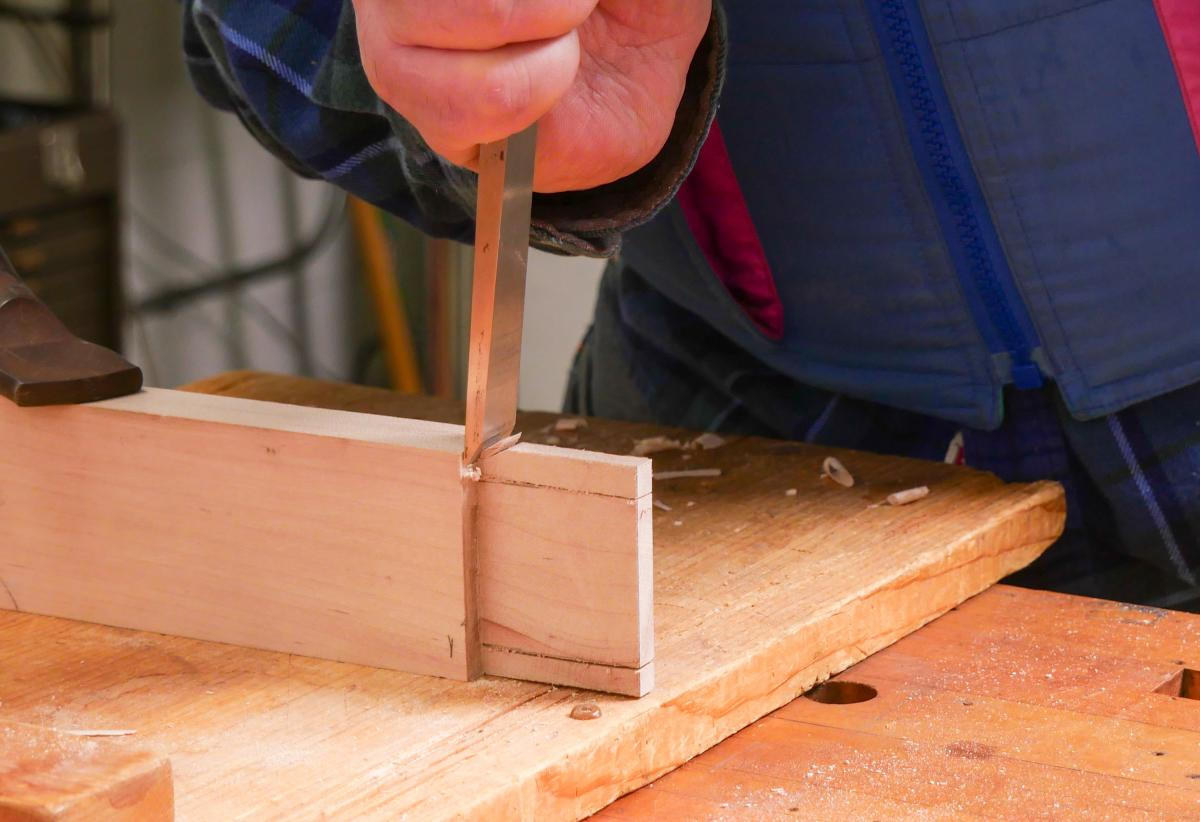 How to Mortise the Moxon Way: Part 1, Layout and Cutting Tenons 15