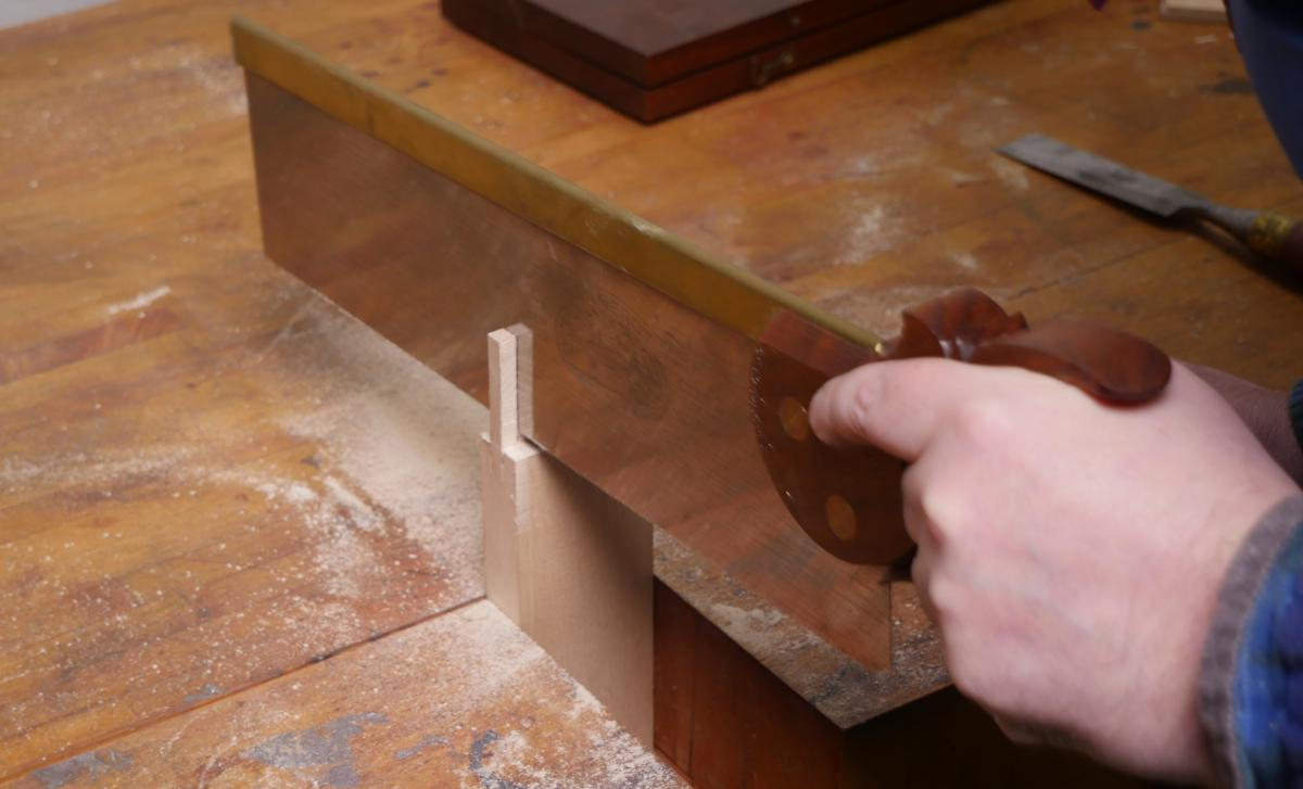 How to Mortise the Moxon Way: Part 1, Layout and Cutting Tenons 14