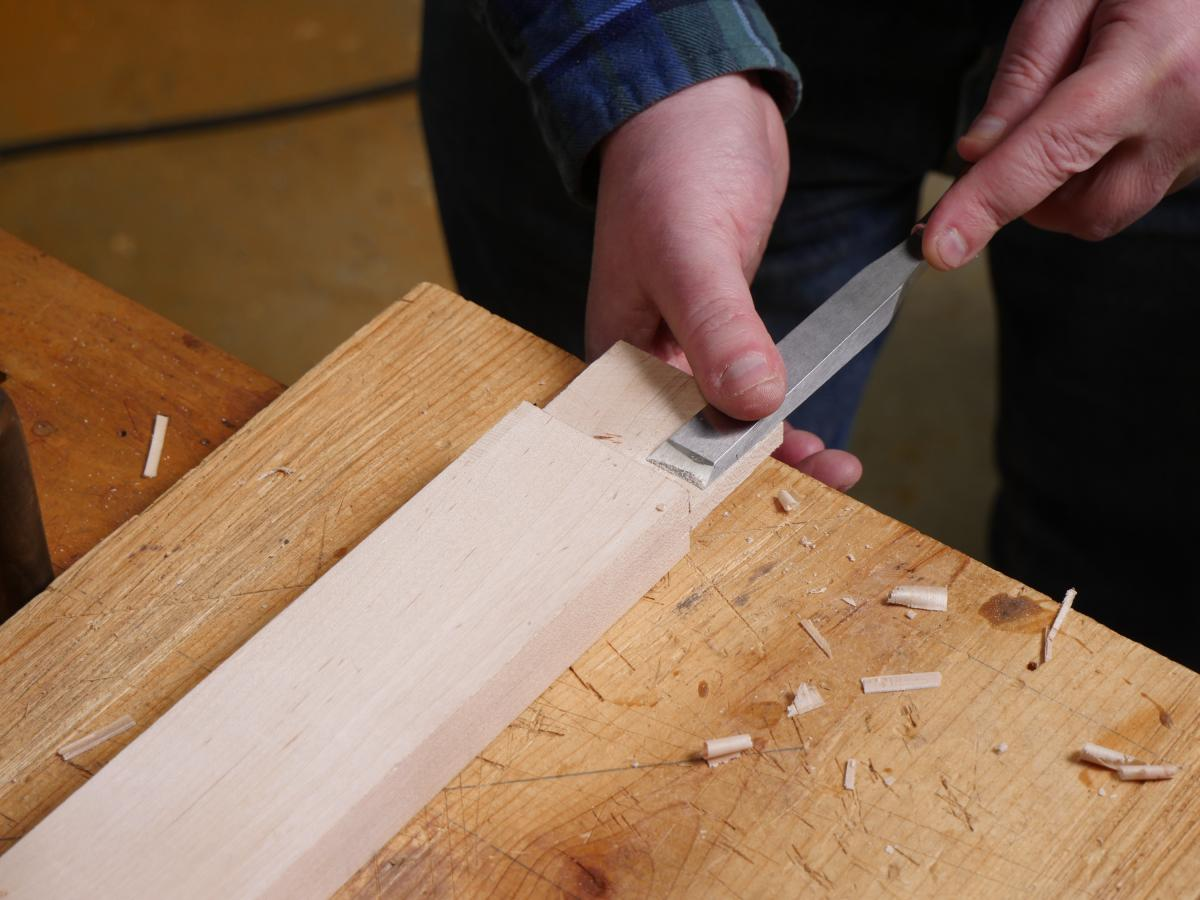 How to Mortise the Moxon Way: Part 1, Layout and Cutting Tenons 9