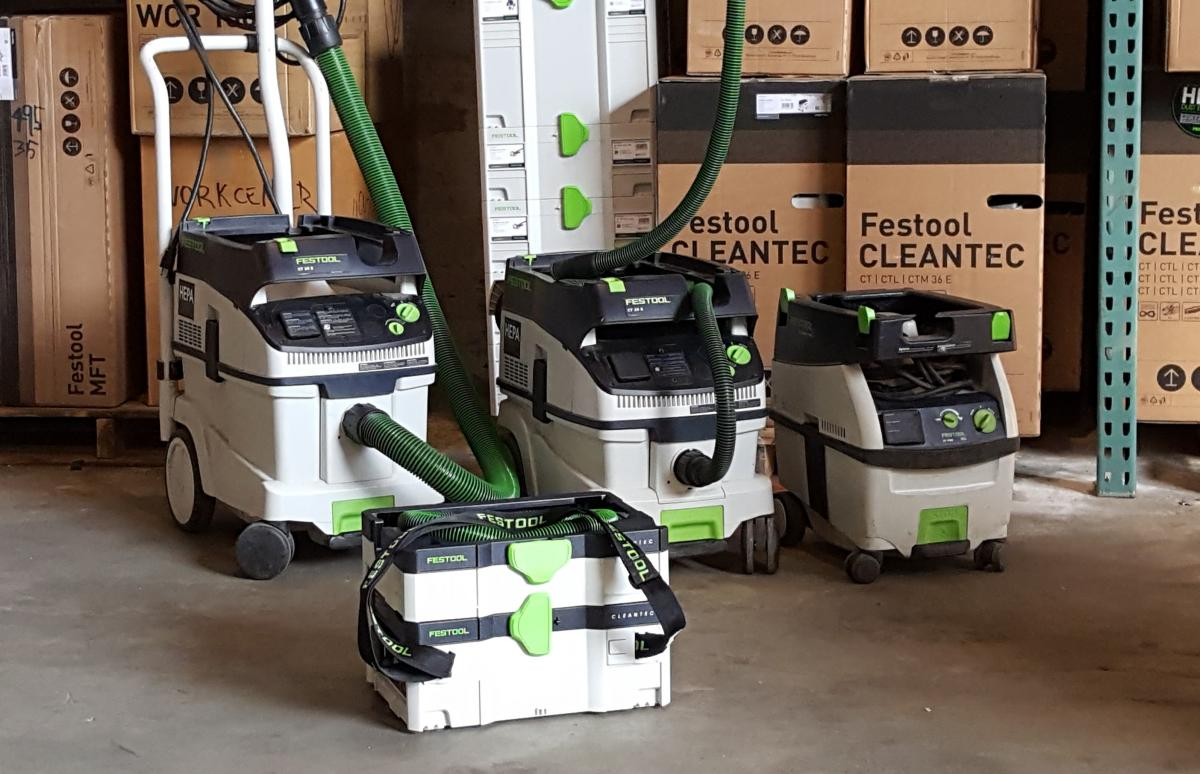 Dust Collection - Which Festool Vacuum Should I Get - Demo Day This Saturday 2