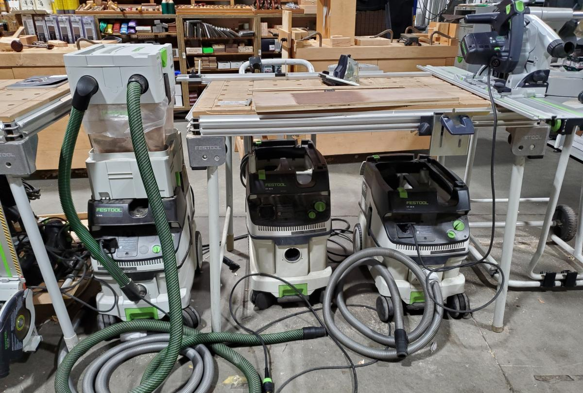 What Is The Best Festool Vacuum For My Shop? 1
