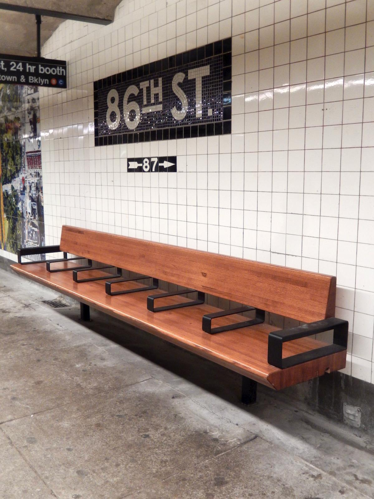 NYC Subway Benches Part 2 1