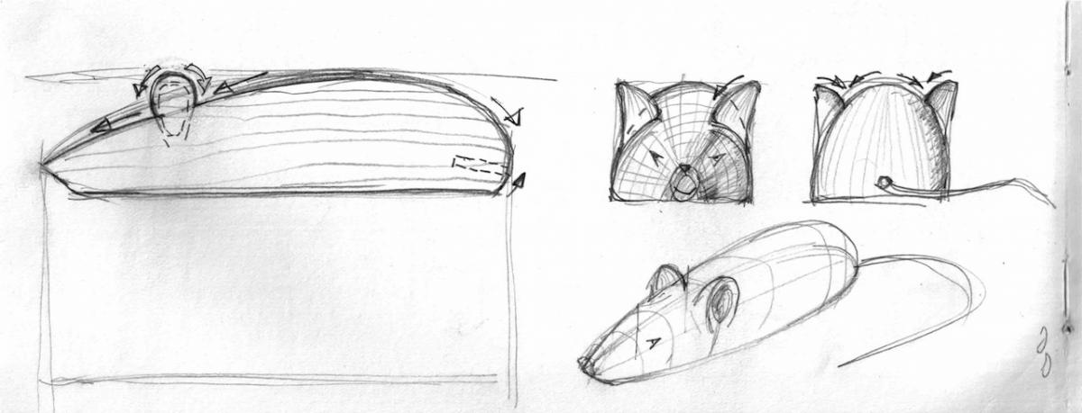 Carving a Mouse (The Teaching of Whittling This Fall  - Continued) 2