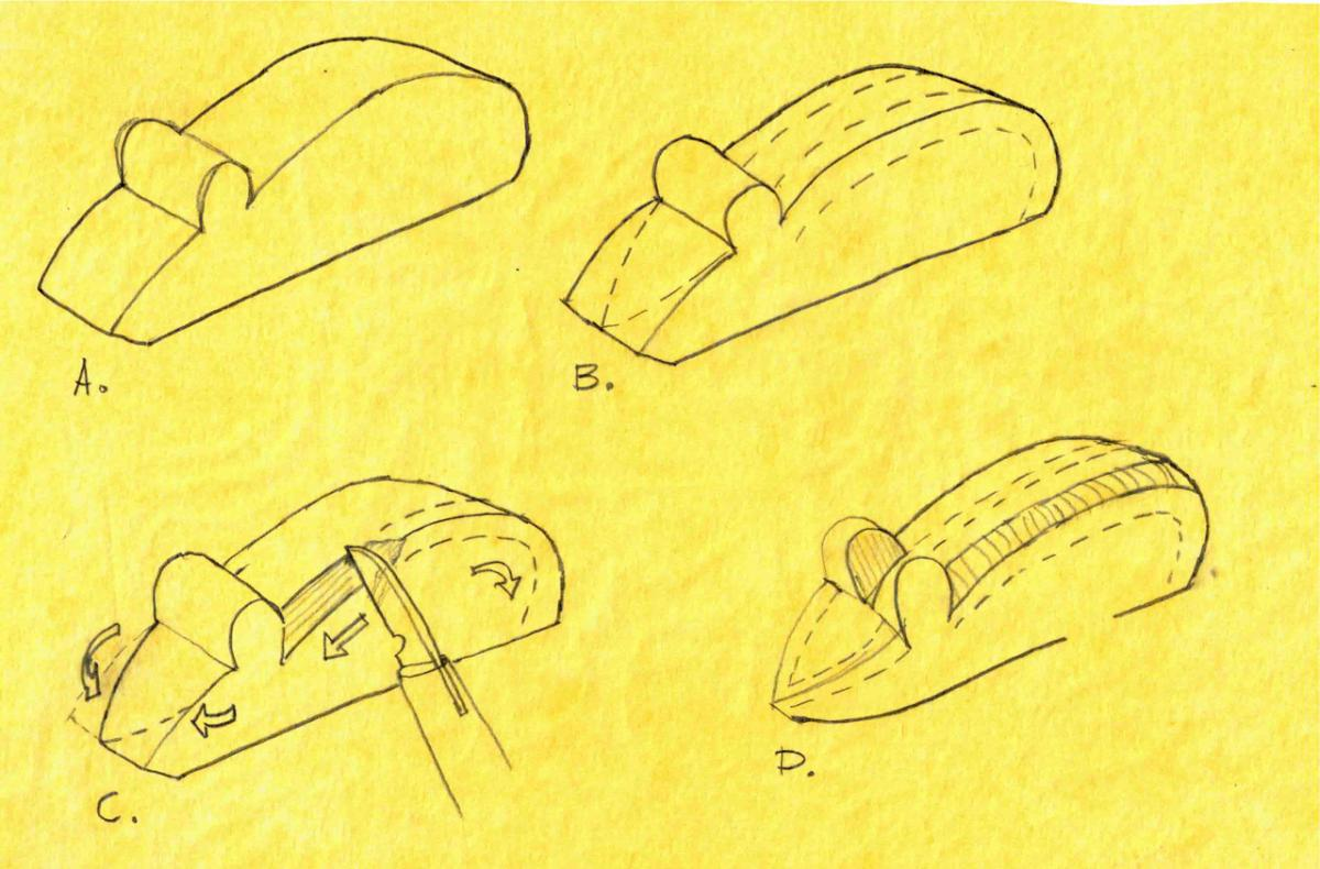 Carving a Mouse (The Teaching of Whittling This Fall  - Continued) 4