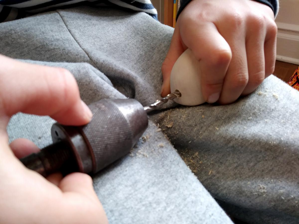 Carving a Mouse (The Teaching of Whittling This Fall - Continued pt3) 12