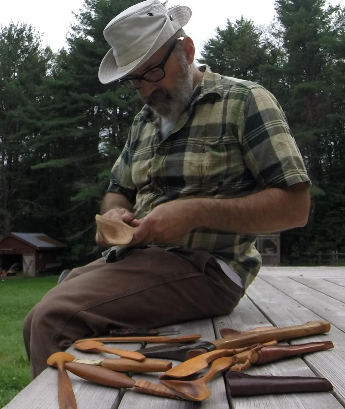 Spoon Carving: The Scandinavian Tradition with Erik Buchakian 1