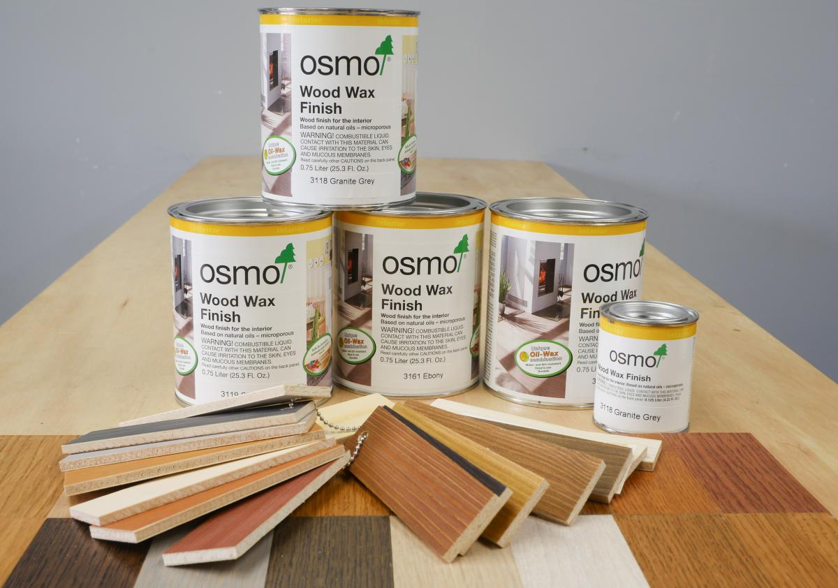 Non-Toxic Wood Finishing With Osmo 1