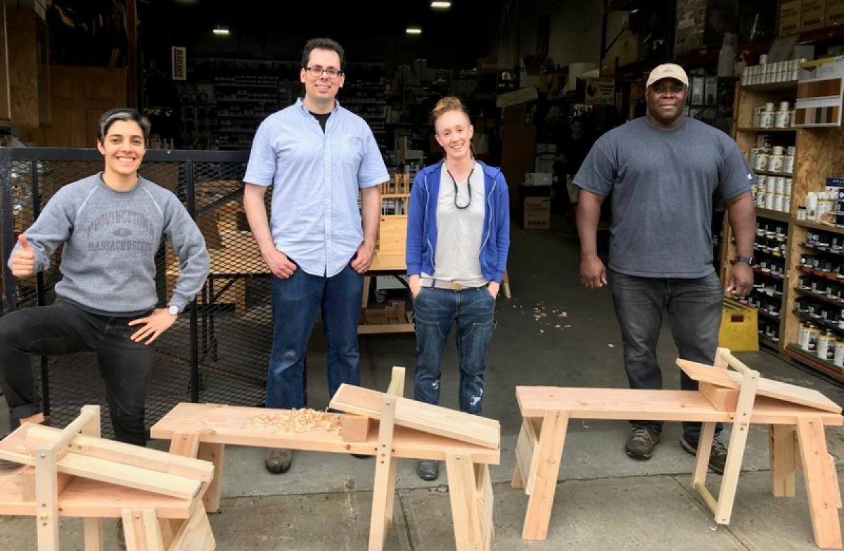Build the Collapsible Shave Horse with Amy Pate 1