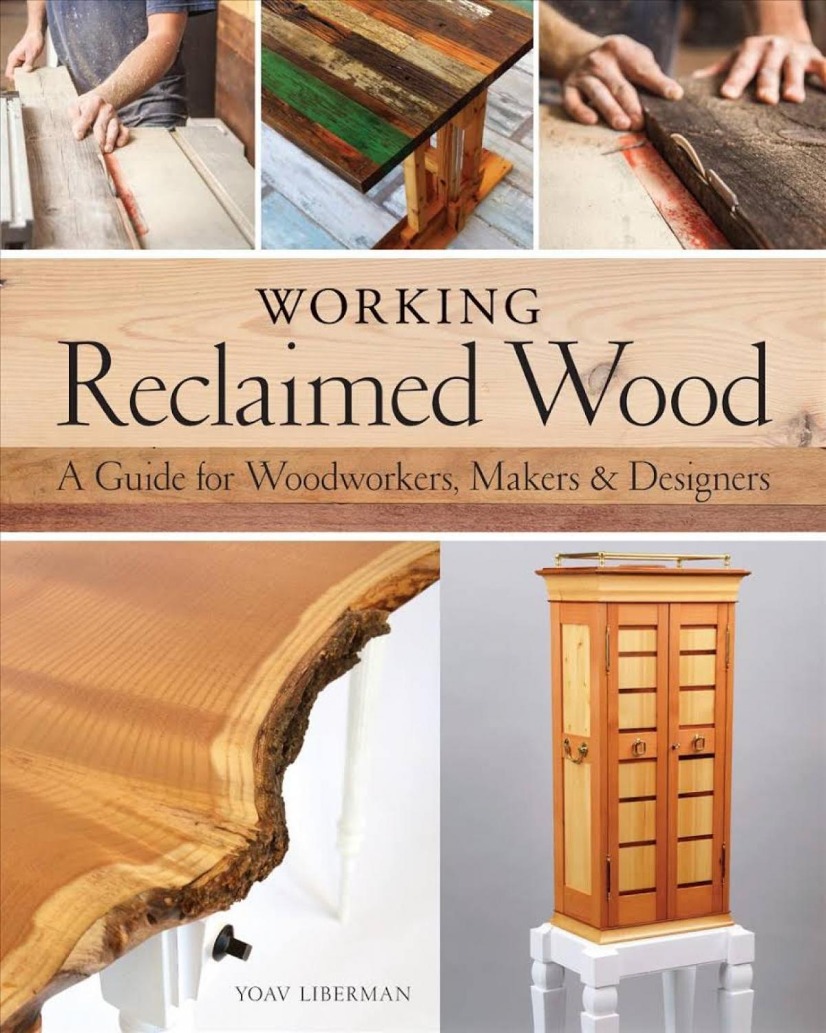 Book Publication Party - Working Reclaimed Wood by Yoav Liberman 1