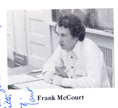 Frank McCourt, My English Teacher, Dies at 78 4