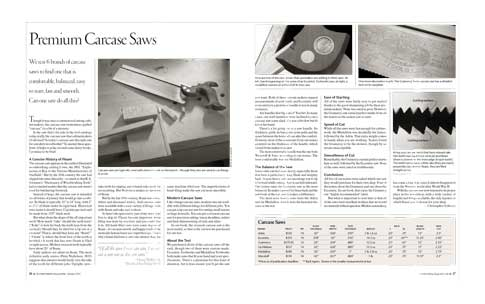4 out of 5 Carcass Saw Testers Surveyed Recommend Gramercy Tools Carcass Saws 4
