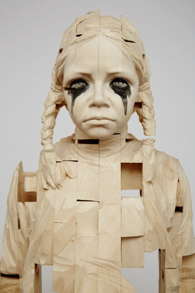 Gehard Demetz - Woodcarvings in Chelsea - and Other News 6