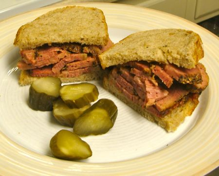 Cheater Pastrami and Getting Stuff Done 4