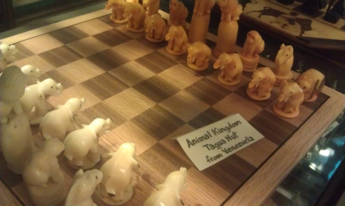 Practical Sculpture - Chess Pieces in the Village - A Visit to the Chess Forum 6