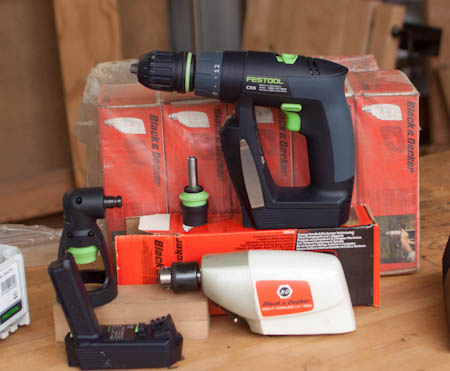 The New Festool CXS Cordless Drill and a Look Back At The Early Days of Cordless 4