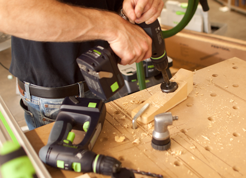 Festool Fall 2011 Announcements and a Sander Special 4