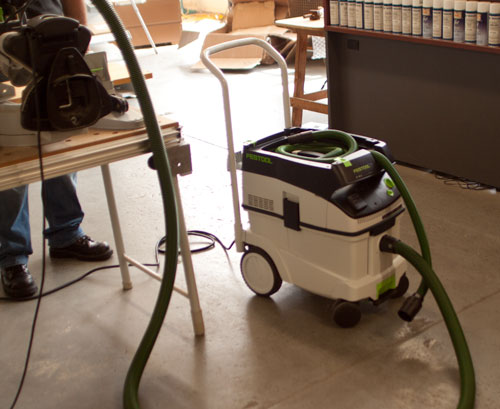 Festool Introduces Two New Vacs (replacing the CT 22 and 33) 4