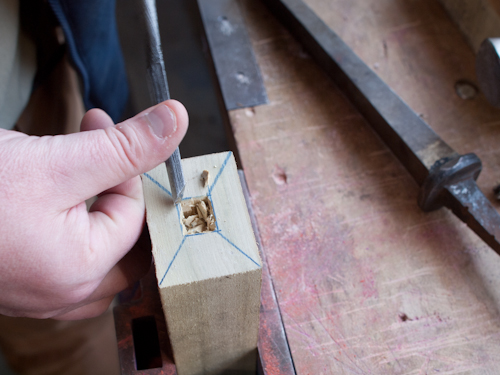English Mortise Chisels - Mid-18th Century to Now - Part 5 - How to Handle a Chisel 7