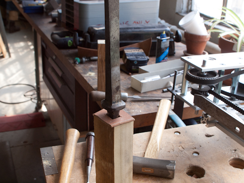 English Mortise Chisels - Mid-18th Century to Now - Part 5 - How to Handle a Chisel 8