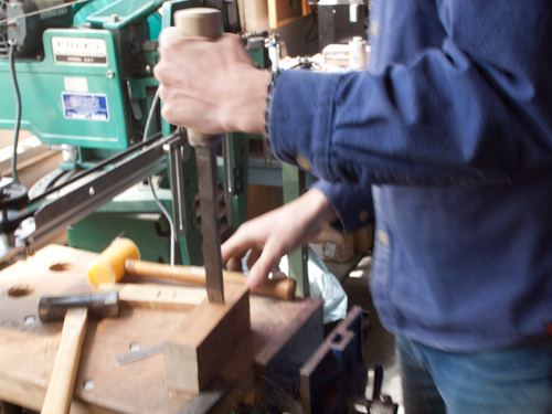 English Mortise Chisels - Mid-18th Century to Now - Part 5 - How to Handle a Chisel 11