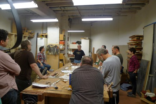 Ron Hock and the Makeville Spokeshave Build 4